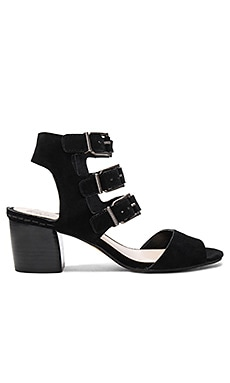 Geriann Sandal in Black Suede
