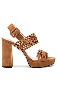 Jazelle Heel in Maple Brown