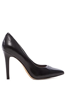 Vince Camuto Kain Nappa Leather Heel in Black