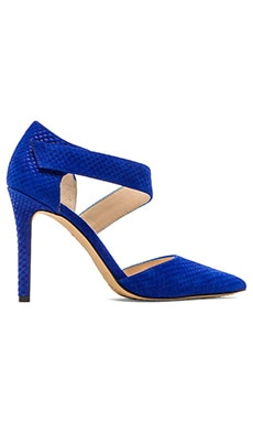 Vince Camuto Carlotte Fishskin Heel in Royal Blue