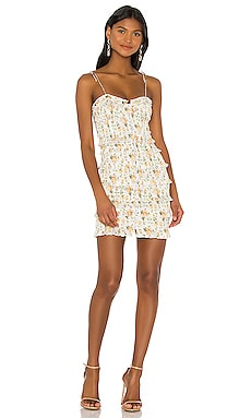 X REVOLVE Drew Mini Dress V. Chapman $183