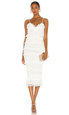 Narcisse Midi Dress V. Chapman $375 NEW