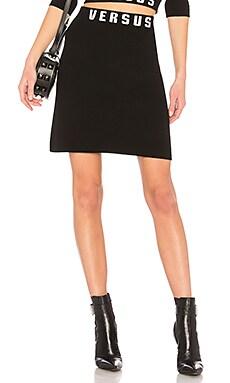 Купить Юбку мини - Versus by Versace черного цвета