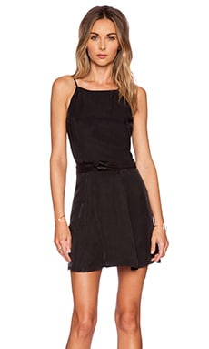 VEDA Knot Dress in Black