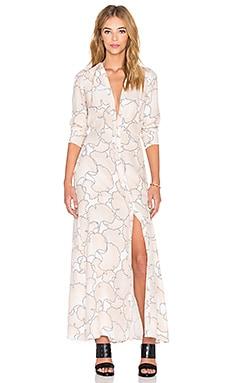 Veil Dress in Pale Ginkgo