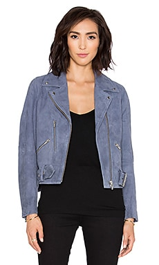 VEDA Punk Jacket in Blue Violet