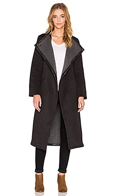Loop Coat in Grey