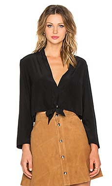 VEDA Double Blouse in Black