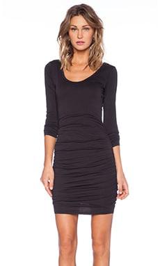 Velvet by Graham & Spencer Gauzy Whisper Haute Dress in Black
