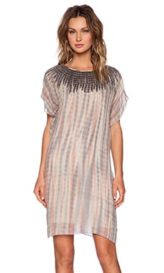Velvet by Graham & Spencer Beaded Tie Dye Beila Dress in Multi