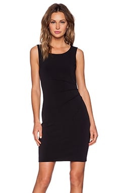 Velvet by Graham & Spencer Stretch Jersey Maxx Dress in Black