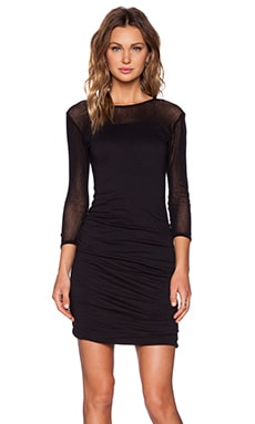 Velvet by Graham & Spencer Gauzy Whisper Rhaxma Dress in Black