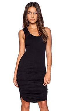 Velvet by Graham & Spencer Gauzy Whisper Samira Dress in Black