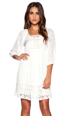 LACE DAMASK VOILE JOLECIA DRESS