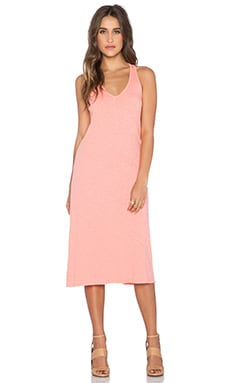 Velvet by Graham & Spencer Valen Cotton Slub Dress in Popsicle