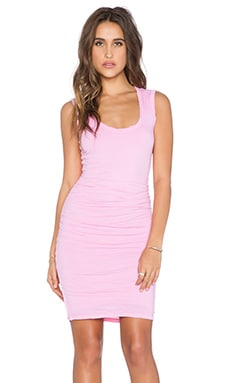 Velvet by Graham & Spencer Varella Gauzy Whisper Dress in Rose