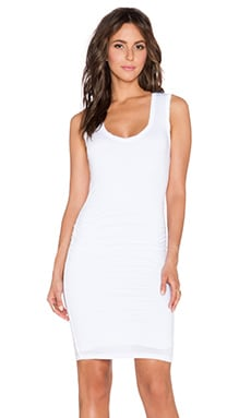 Velvet by Graham & Spencer Varella Gauzy Whisper Dress in White