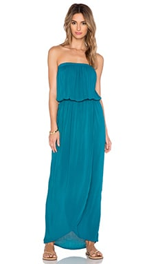 Velvet by Graham & Spencer Jasia Rayon Challis Maxi Dress in Pennant