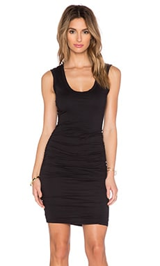 Velvet by Graham & Spencer Varella Gauzy Whisper Dress in Black