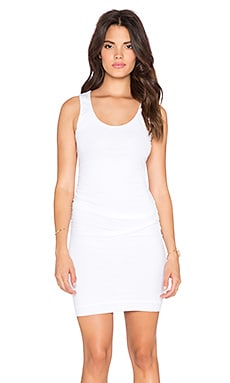 Velvet by Graham & Spencer Austen Gauzy Whisper Dress in White