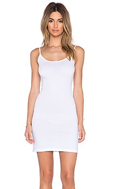 Velvet by Graham & Spencer Scarlett Gauzy Whisper Dress in White