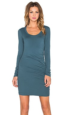 Velvet by Graham & Spencer Atarah Gauzy Whisper Dress in Caper