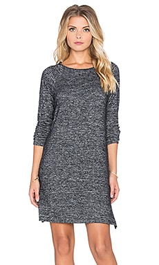 Velvet by Graham & Spencer Sena Cozy Jersey Dress in Marled