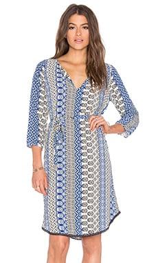 Velvet by Graham & Spencer Chivas Tallulah Printed Challis Dress in Multi