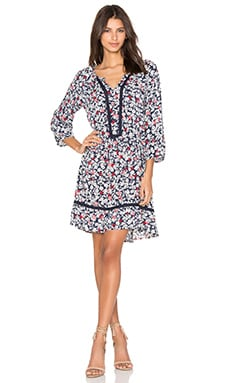 Debe Dahlia Print Shift Dress