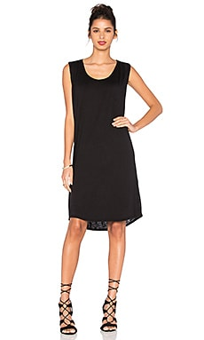 Gipper Lux Slub Tank Dress in Black