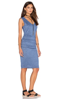 Orion Textured Knit Tank Dress in Kite