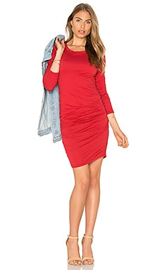 Yurel Long Sleeve Crew Neck Mini Dress
