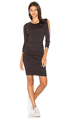 Fantasia Midi Dress en Noir