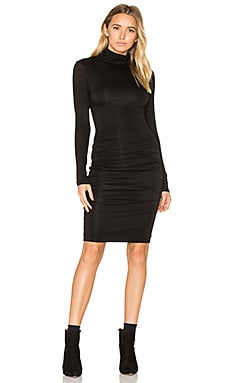 Lordes Midi Dress in Black