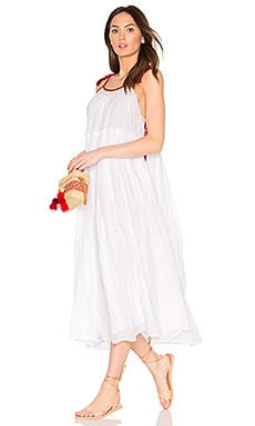 X Kristy Hume Poppy Dress in White