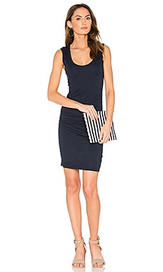 Varella Tank Dress in Midnight