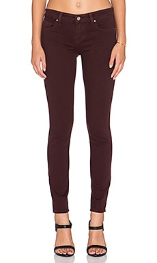Velvet by Graham & Spencer Toni Skinny in Wine