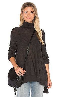 Fae Turtleneck Sweater in Charcoal