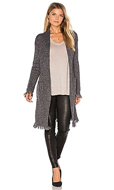 Grahm Long Sleeve Cardigan in Grey