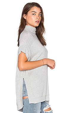 Josephine Poncho in Heather Grey