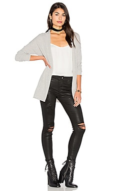 Desiree Cardigan in Heather Grey