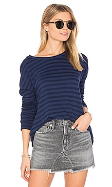 Ciarda Stripe Sweater in Sailboat
