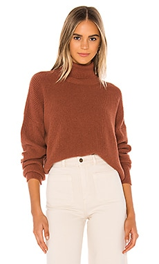 Mindy Turtleneck Sweater Velvet by Graham & Spencer $198