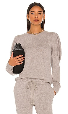 Bianca Sweatshirt Velvet by Graham & Spencer $130