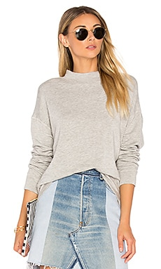 Holly Mock Neck Pullover