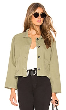 Magdalin Cropped Jacket Velvet by Graham & Spencer $76