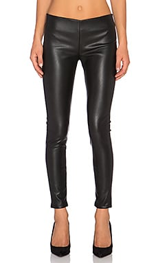 Berdine Faux Leather Legging