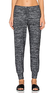 Velvet by Graham & Spencer Trella Cozy Jersey Sweatpant in Marled