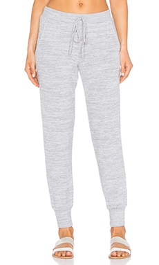 Velvet by Graham & Spencer Fabiola Cozy Heather Sweatpant in Heather Grey
