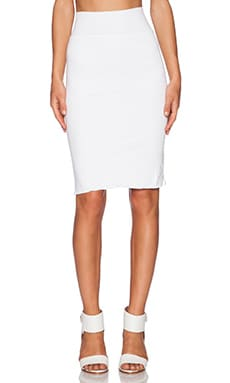 Velvet by Graham & Spencer Gauzy Whisper Classics Sintia Skirt in White